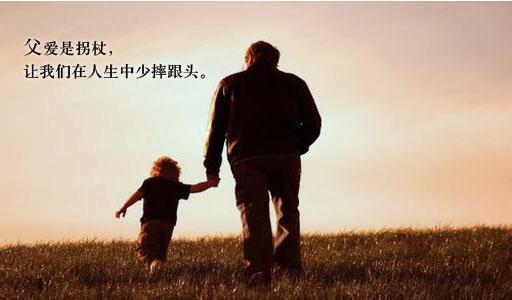 赞美父亲的句子