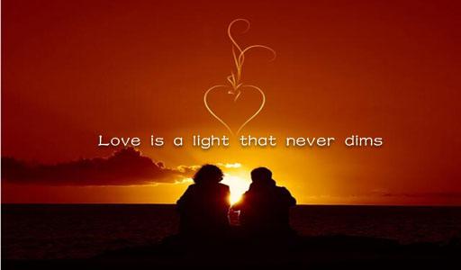 经典英语爱情句子