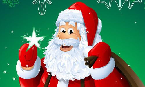 圣诞老人送礼物的龙虎娱乐app