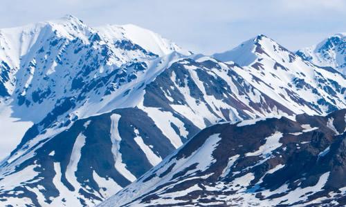 大气雪山背景素材