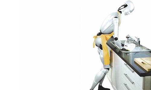 未来的保姆机器人作文