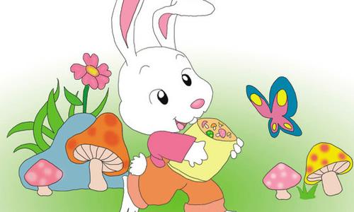 小学四年级作文可爱的小白兔450|三年级作文350字大全
