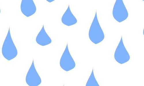 想象自己是雨滴的作文