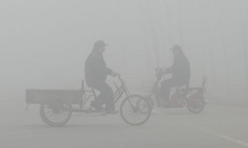 雾霾作文100字