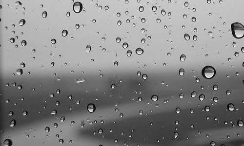 下雨的心情作文图片