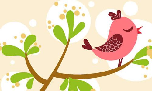 小鸟和大树的作文400字
