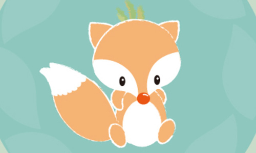 小狐狸哭了蚊子450字表情作文动漫包大图图片