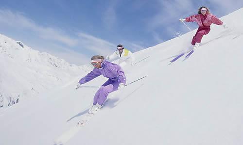 学习滑雪的作文