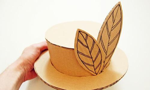 手工卡纸做帽子作文
