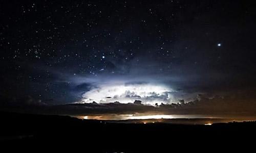 黑夜风景美图大全