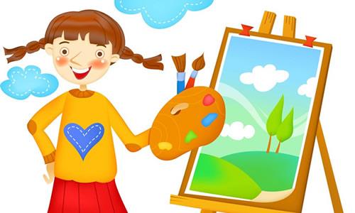 苏教版四年级下册语文第二单元作文 未来的画家图片