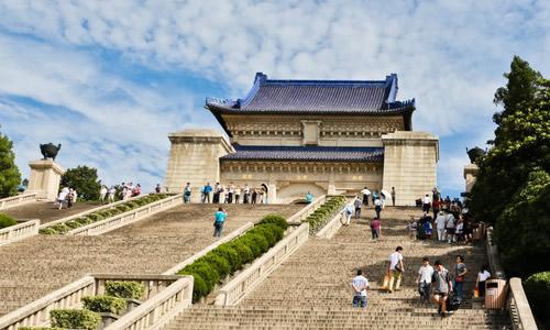 南京中山陵作文图片