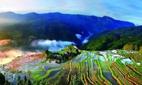 贵州秀丽古朴,风景如画