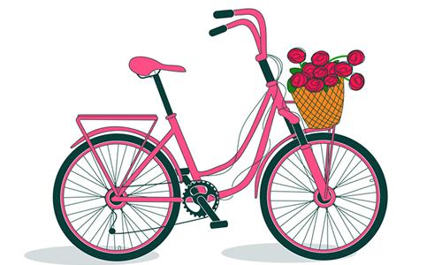 学自行车受挫作文