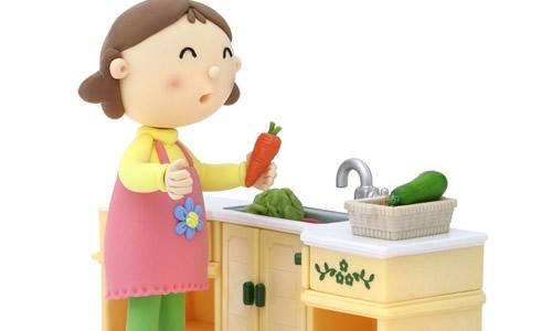 帮妈妈洗菜作文