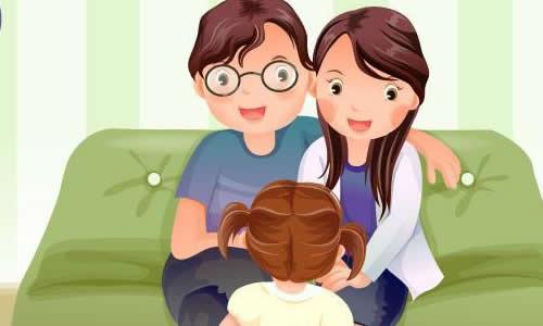 感恩家庭背景素材卡通