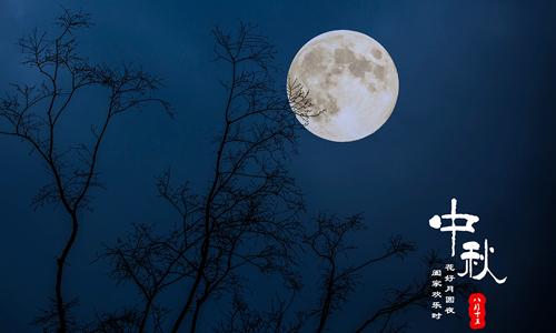 描写中秋节月亮的作文