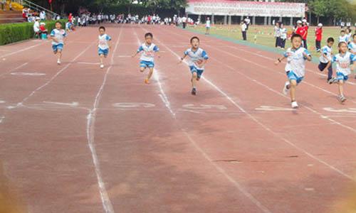 同学们跑步小学生作文