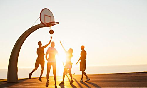 篮球高中作文800字
