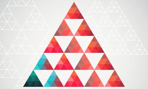 关于三角形的联想作文图片