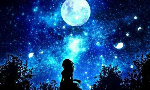 qq头像夏天夜空的美丽图片