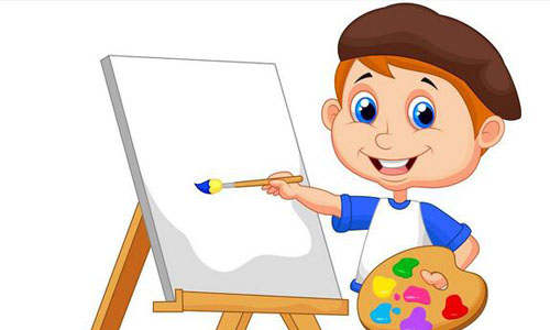 ——绘画 每个人都有特长,有的人的特长是唱歌;有的人的特长,是跳舞
