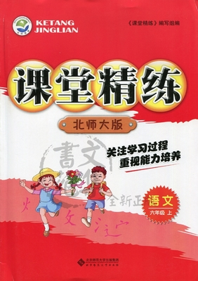 六年级上册语文课堂精练答案北师大版
