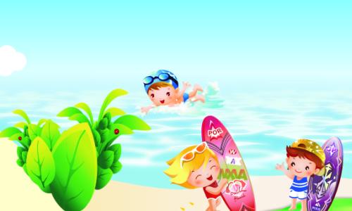 我最喜欢的课余生活游泳 我的课余生活是丰富多彩的。有羽毛球,有网球还有游泳。但我最喜欢的还是游泳,游泳给我的生活带来了许多乐趣。 一开始,我站在游泳池的岸上,看着碧蓝的池水,起浮不定的波浪和叫喊声,都吓得我提心吊胆,生怕跌进水里,抱着胳膊不敢乱走,心里象揣着小兔子嘭嘭直跳。 只看见妈妈跳入池中,时而露出水面换气,时而钻入水下蹬腿划水,就像鱼儿一样在水里游的可欢了,我心里又羡慕又害怕。突然,妈妈往我站的地方泼水,扑哧一下我滑入了池中,并喝了一大口水,我一边挣扎,双脚用力蹬着池水,一边努力地伸长脖子,把