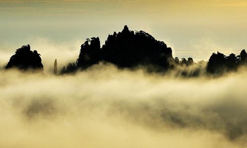 初中描写黄山景色的作文
