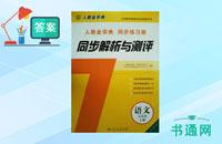 九年级上册语文同步解析与测评答案人教版