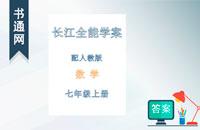 七年级上册数学人教版长江全能学案答案