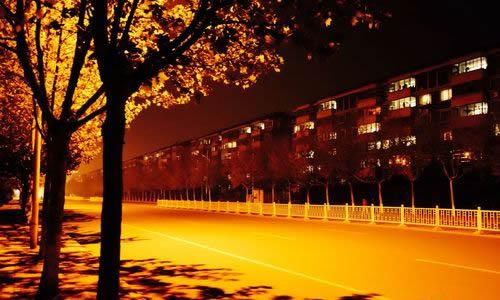 描写秋天夜景的作文200字