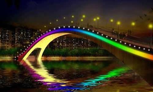 家乡的彩虹桥作文400字   我的家乡在婺源,这里物产丰富,还有许多风景