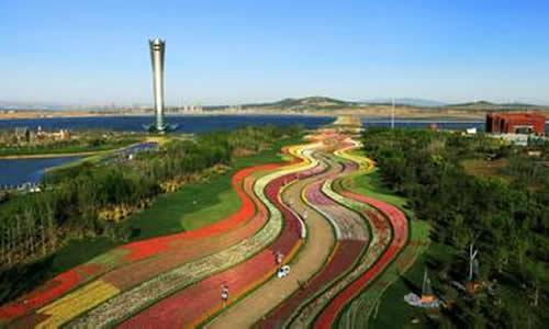 锦州世博会园区_锦州世博园园区总占地面积7平方公里,其中陆地面积3.