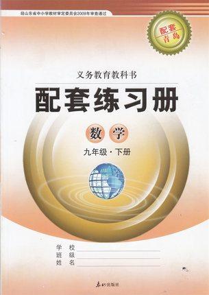 九年级下册数学配套练习册答案青岛版