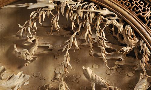 描写木雕的作文600字
