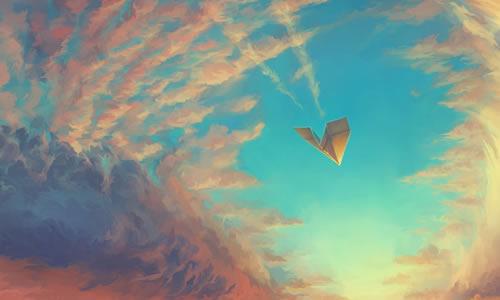 永远的纸飞机作文