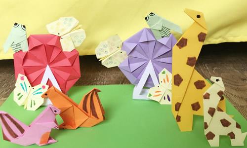 有趣的折纸作文400字