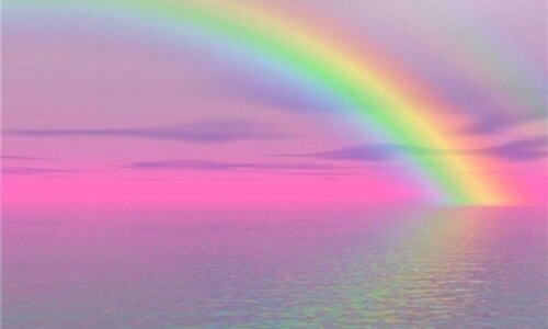 天空出现那一道彩虹_3.看那远处的天空有一道绚丽的彩虹.         4.