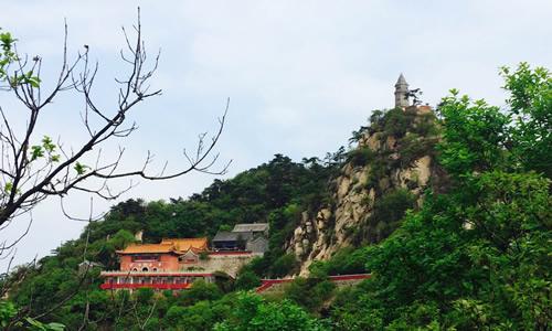刘田庄石盘山风景区